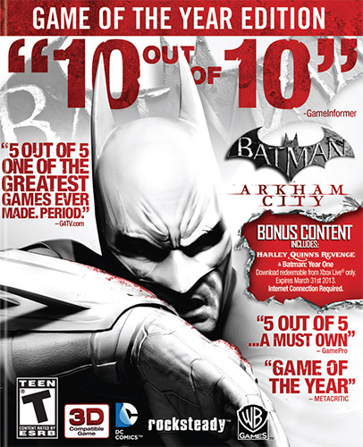لعبة Batman Arkham City Game of The Year Edition ريباك فريق Fitgirl