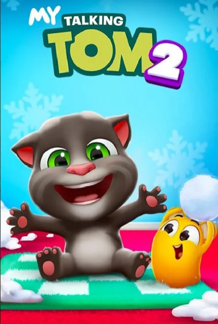 لعبة My Talking Tom 2 MOD للأندرويد