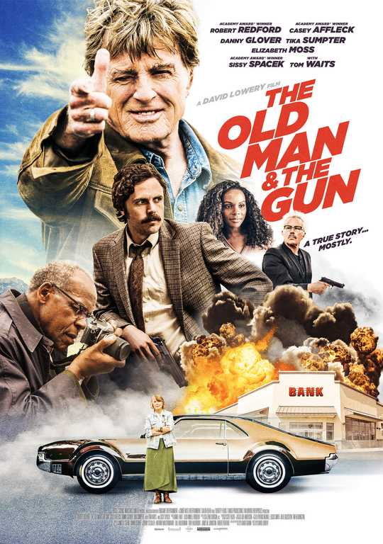 فيلم The Old Man And The Gun 2018 مترجم