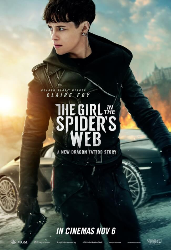 فيلم The Girl In The Spider's Web 2018 مترجم