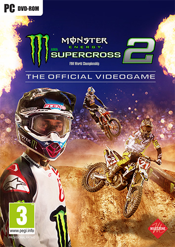 لعبة Monster Energy Supercross The Official Videogame 2 + 7 DLCs ريباك