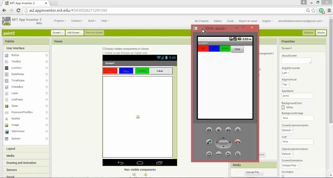 Make Android Apps Without Code,تصميم برامج اندرويد,تصميم برامج اندرويد في دقائق