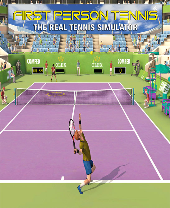 لعبة First Person Tennis The Real Tennis Simulator كاملة