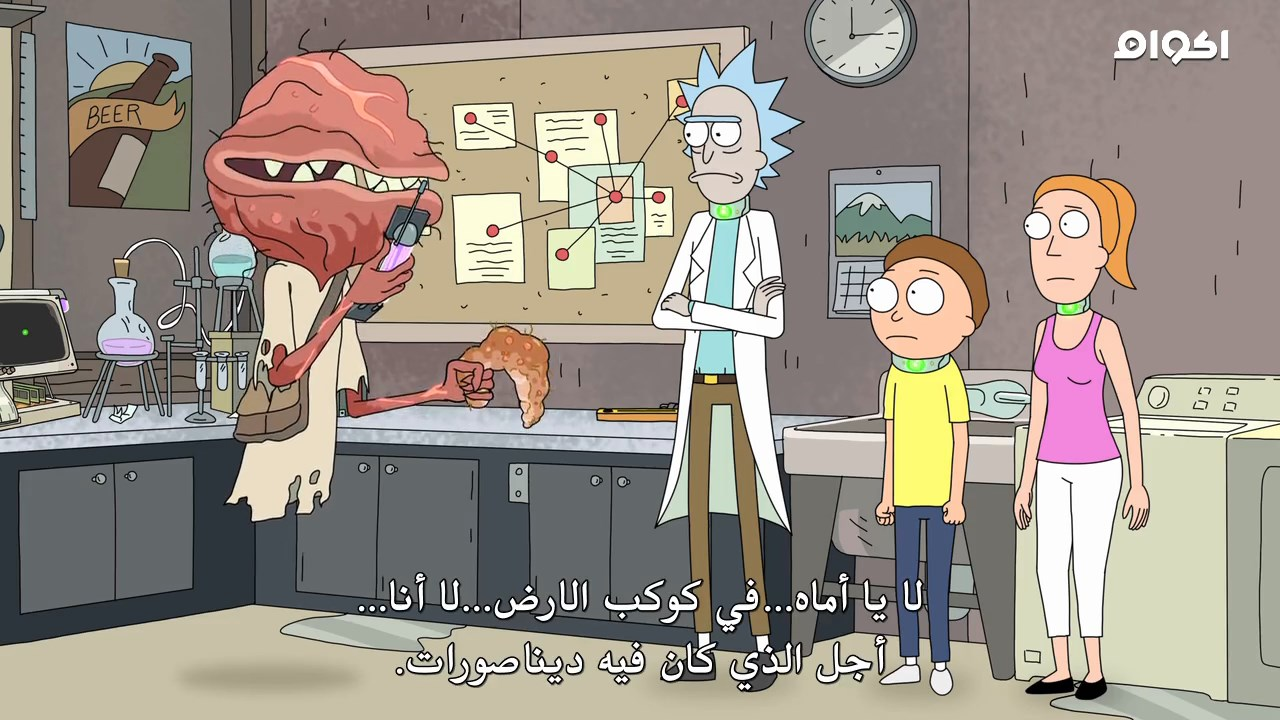 Rick and Morty,Rick and Morty S02,Rick and Morty Season 2,Rick and Morty مترجم,Rick and Morty الموسم الثاني,انيميشن,مغامره,كوميدي