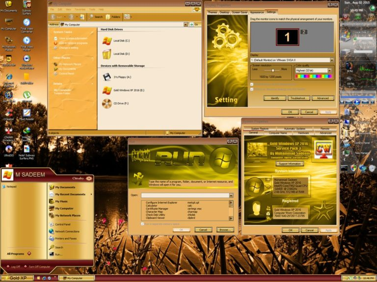 Gold Windows XP SP3 2016,Gold Windows XP SP3,Gold Windows XP,Windows XP,ويندوز إكس بى الذهبى,ويندوز إكس بى
