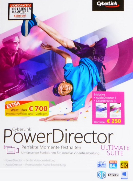 برنامج المونتاج CyberLink PowerDirector Ultimate 17.6.3125.0