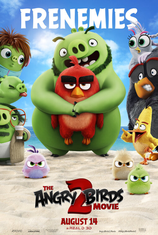 فيلم The Angry Birds Movie 2 2019 مترجم