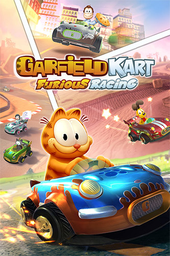 لعبة Garfield Kart Furious Racing ريباك Fitgirl