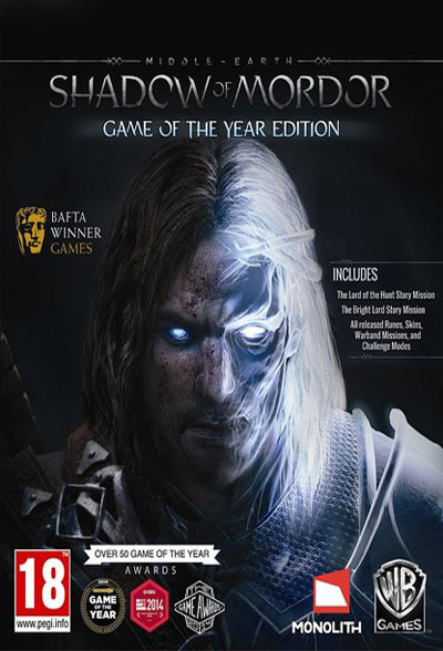 لعبة Middle-Earth Shadow of Mordor ريباك Fitgirl