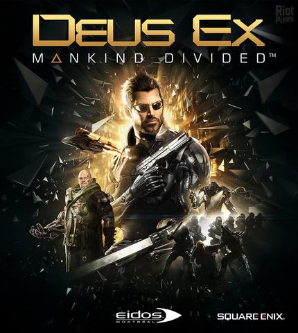 لعبة Deus Ex Mankind Divided Digital Deluxe Edition v1.16 build 761.0 + All DLCs + Bonus Content ريب