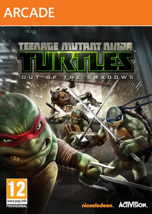 لعبة النينجا المتنظرة Teenage Mutant Ninja Turtles Out of the Shadows.2013