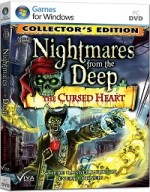 لعبة الألغاز والمغامرات الشيقة Nightmares From The Deep The Cursed Heart Collectors Edition