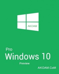 ويندوز Windows 10 Pro Insider Preview Build 10158