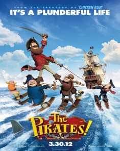 فيلم The Pirates! In an Adventure with Scientists! 2012 مدبلج للعربية