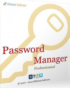 برنامج Efficient Password Manager Pro 5.0 Build 506 Multilingual