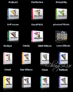 فلاتر التوباز Topaz Photoshop Plugins Bundle 2014