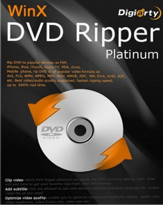 برنامج WinX DVD Ripper Platinum v7.5.12.141 Build