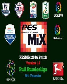 باتش PESMix 2016 Patch V1.0 Full Bundesliga