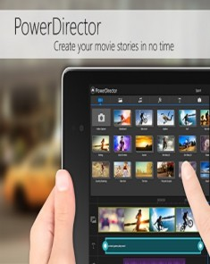 برنامج PowerDirector Video Editor v3.2.0