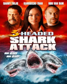 فيلم 3Headed Shark Attack 2015  مترجم