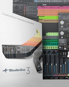 برنامج PreSonus Studio One 3 Professional v3.1.0.35191