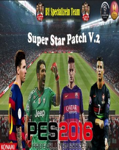 باتش PES 2016 Super Star Patch V2