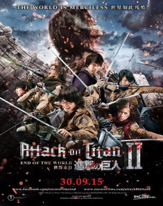 فيلم Attack On Titan 2 End Of The World 2015 مترجم