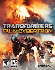 لعبة Transformers Fall of Cybertron ريباك فريق Black Box