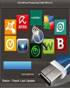 برنامج All AntiVirus Product Key Finder 2016 v1.7