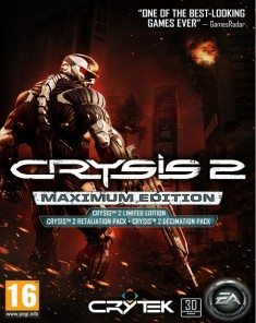 لعبة Crysis 2 Maximum Edition ريباك فريق CorePack