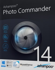 برنامج التصميم Ashampoo Photo Commander 14.0.4 Final