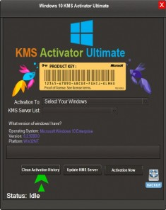 برنامج Windows KMS Activator Ultimate 2016 2.8