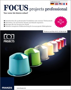 برنامج Franzis FOCUS Projects Professional 3.25.02375 Full
