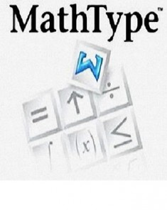 برنامج MathType 6.9