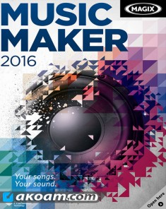برنامج MAGIX Music Maker 2016 Premium 22.0.3.63