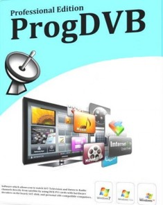 برنامج ProgDVB Professional Edition 7.13.0