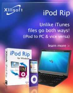برنامج Xilisoft iPod Rip v5.7.12 Build 20160322