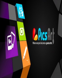 برنامج PicsArt Photo Studio FULL v5.19