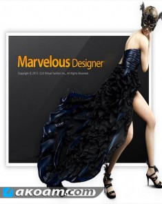 برنامج تصميم الازياء Marvelous Designer 5 Personal Advanced v2.3.168 Full