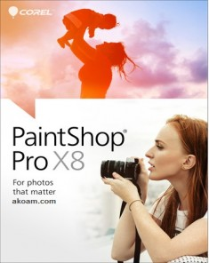 برنامج Corel PaintShop Pro X8 Ultimate 18.2.0.61
