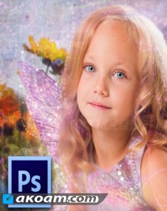 كورس تصميم الصور Photoshop Tutorials Turn Family Photos Into Art