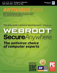 برنامج الحماية Webroot SecureAnywhere AntiVirus 9.0.9.78