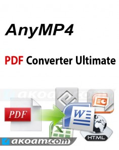 برنامج AnyMP4 PDF Converter Ultimate v3.3.8 Full