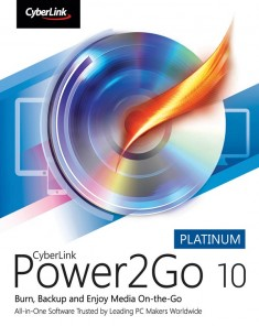 برنامج CyberLink Power2Go Platinum 10.0.3016.0