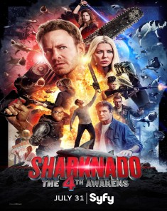 فيلم Sharknado 4: The 4th Awakens 2016 مترجم
