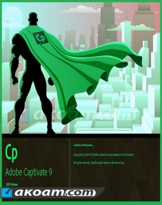 برنامج Adobe Captivate 9.0.2 Multilingual