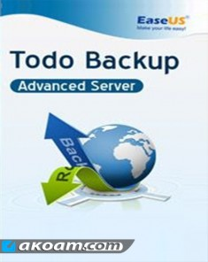 برنامج EaseUS Todo Backup Advanced Server v9.3.0.0 Full