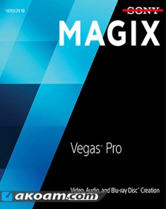 برنامج MAGIX Vegas Pro v14.0.0 Build 161 Multilingual