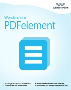 برنامج Wondershare PDFelement 5.11.0.1051