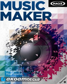 برنامج MAGIX Music Maker 2017 Premium 24.0.1.34